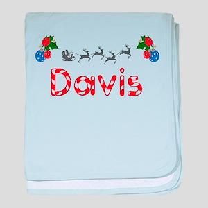 Davis, Christmas baby blanket