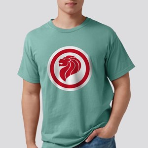 Singapore Lion Mens Comfort Colors Shirt