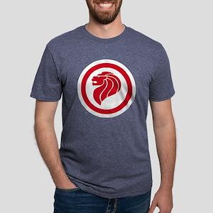 Singapore Lion Mens Tri-blend T-Shirt