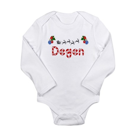 Degen, Christmas Long Sleeve Infant Bodysuit