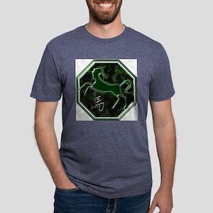 horse-noText Mens Tri-blend T-Shirt