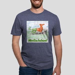 merdachshund10x10 Mens Tri-blend T-Shirt