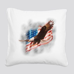 2-faded glory copy Square Canvas Pillow