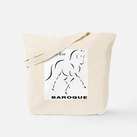 Go for Baroque Tote Bag