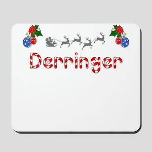 Derringer, Christmas Mousepad