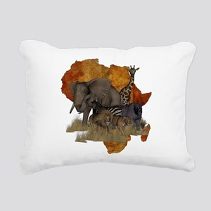 Safari Rectangular Canvas Pillow