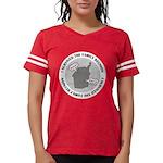 2-isurvived_dark.png Womens Football Shirt