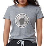 2-isurvived_dark.png Womens Tri-blend T-Shirt