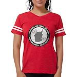 2-isurvived_10x10.png Womens Football Shirt