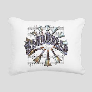 handbells Rectangular Canvas Pillow