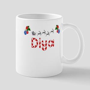 Diya, Christmas Mug