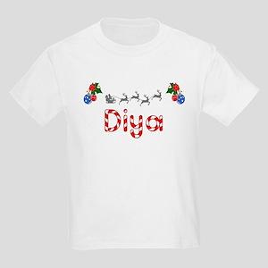 Diya, Christmas Kids Light T-Shirt