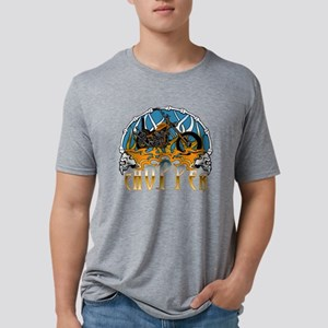 chopperbones3 Mens Tri-blend T-Shirt