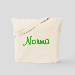 Norma Glitter Gel Tote Bag