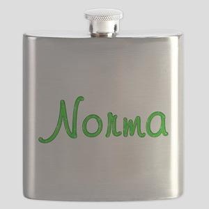 Norma Glitter Gel Flask