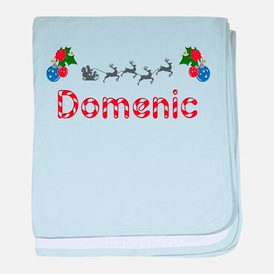 Domenic, Christmas baby blanket