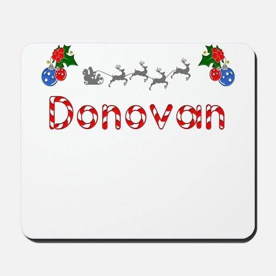 Donovan, Christmas Mousepad