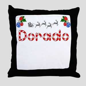 Dorado, Christmas Throw Pillow
