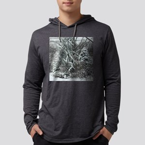 TILE-WINTERGAR Mens Hooded Shirt
