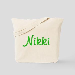 Nikki Glitter Gel Tote Bag