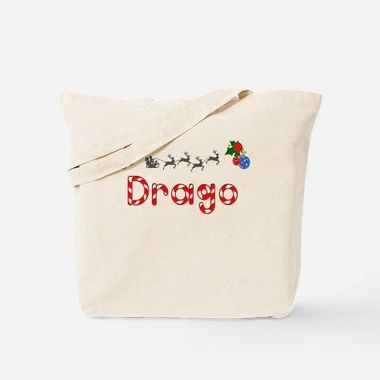 Drago, Christmas Tote Bag
