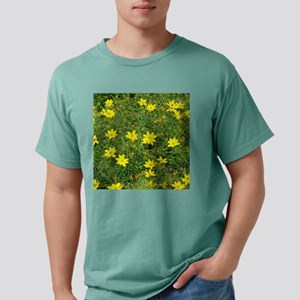 TILE TEMPLATE-COREOPSIS. Mens Comfort Colors Shirt