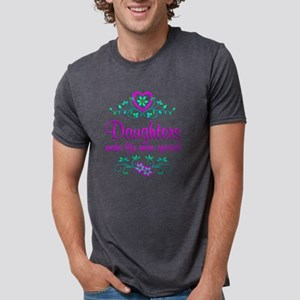 Special Daughter Mens Tri-blend T-Shirt