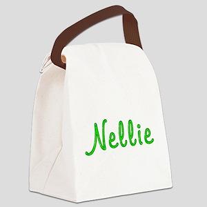 Nellie Glitter Gel Canvas Lunch Bag
