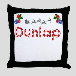 Dunlap, Christmas Throw Pillow