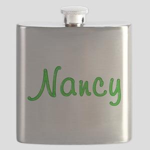 Nancy Glitter Gel Flask