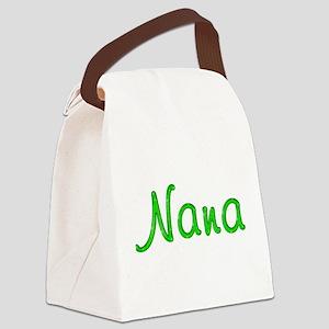 Nana Glitter Gel Canvas Lunch Bag