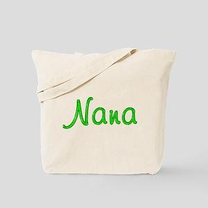 Nana Glitter Gel Tote Bag