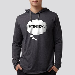 Anytime Now... Mens Hooded Shirt