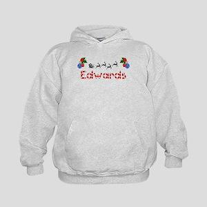 Edwards, Christmas Kids Hoodie