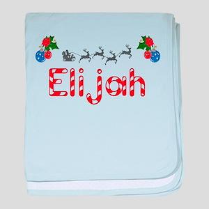 Elijah, Christmas baby blanket