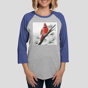 cardinal-65x65-gr Womens Baseball Tee