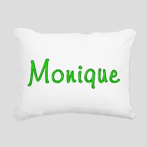Monique Glitter Gel Rectangular Canvas Pillow