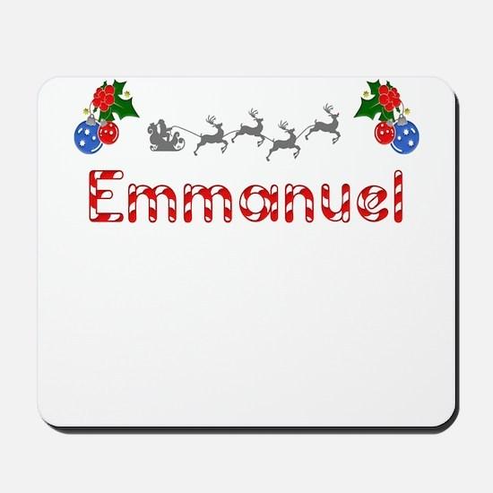 Emmanuel, Christmas Mousepad