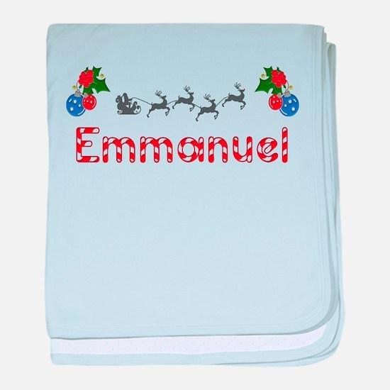 Emmanuel, Christmas baby blanket