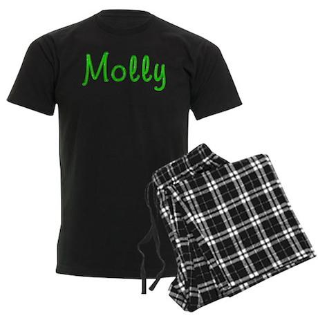 Molly Glitter Gel Men's Dark Pajamas