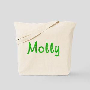 Molly Glitter Gel Tote Bag