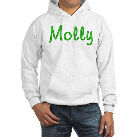 Molly Glitter Gel Hooded Sweatshirt