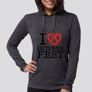 ILoveOktoberFest3 Womens Hooded Shirt