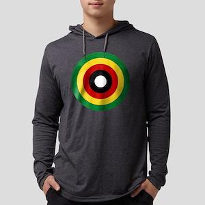 zimbabwe Mens Hooded Shirt