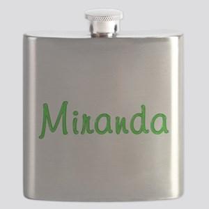 Miranda Glitter Gel Flask