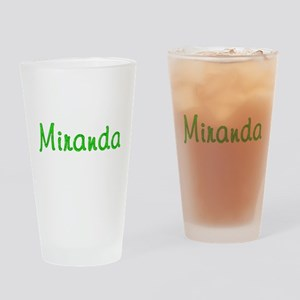 Miranda Glitter Gel Drinking Glass