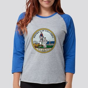 District of Columbia template. Womens Baseball Tee