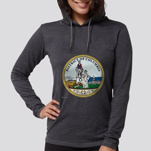 District of Columbia template. Womens Hooded Shirt