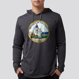 District of Columbia template.pn Mens Hooded Shirt