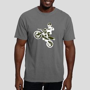 Nick2 white mirrored tra Mens Comfort Colors Shirt